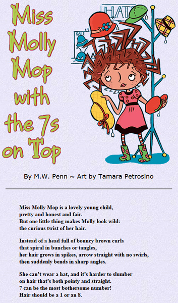 Miss Molly Mop with the 7's on Top